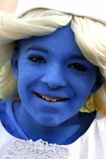 Melkmeisje in Delfts Blauw